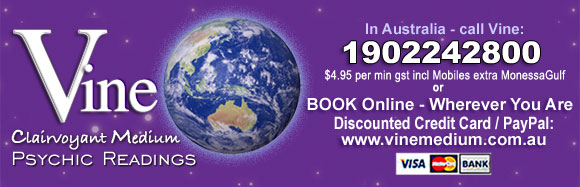 Book a Discounted Phone Psychic Reading with VINE from wherever You Are in the World